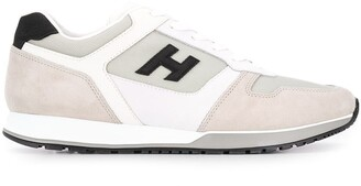 Hogan H321 panelled low-top sneakers