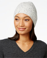 Charter Club Cashmere Donegal-Knit Hat, Only at Macy's