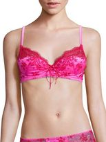 Mimi Holliday Cinnamon Sugar Raised Lace Super Plunge Padded Bra