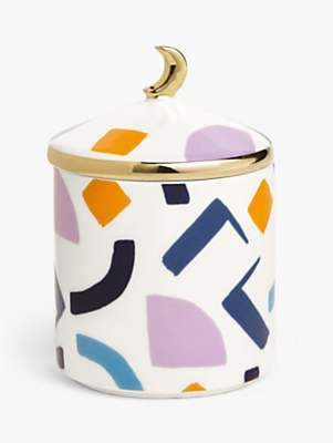 John Lewis & Partners Cleo Moon Lidded Scented Candle