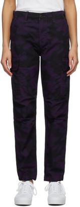 Carhartt Work In Progress Purple Cymbal Trousers