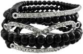 Things2Die4 Eternity Design Beaded Stretch Bracelet