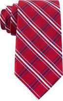 Tommy Hilfiger Men's Red Group Grid Tie