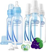 Dr Browns Dr. Brown's Standard Bottles Gift Set with Pacifier, Teether & Nipple - Blue - One Size - 5 ct