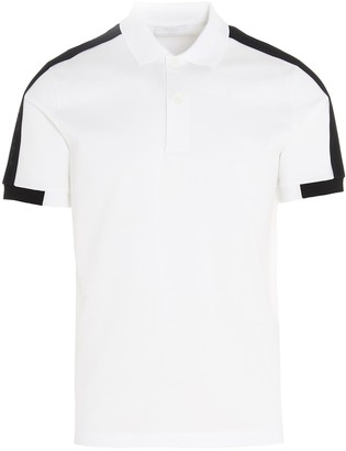 Prada Panelled Polo Shirt