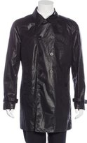 John Varvatos Double-Breasted Car Coat