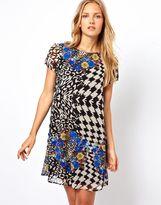 Love Printed Shift Dress