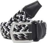 Anderson's Multi Colour Zig Zag Woven Belt