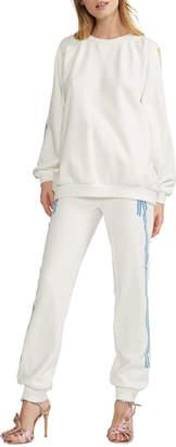 Cynthia Rowley Dylana Ribbon Stripe Jogger Pants
