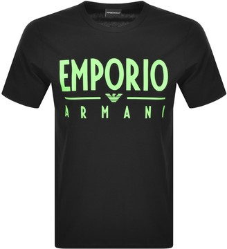 Giorgio Armani Emporio Crew Neck T Shirt Black