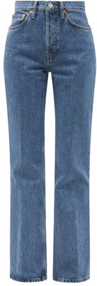 RE/DONE 70s Bootcut High-rise Jeans - Denim