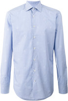 Etro long sleeve gingham shirt - men - Cotton - 43