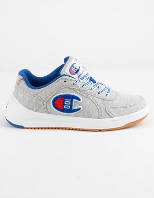 Champion Super C Court Low 100 Oxford Gray Boys Shoes