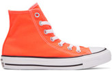 Converse Orange Classic Chuck Taylor All Star Ox High-top Sneakers