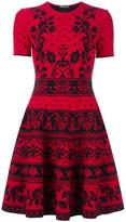 Alexander McQueen jacquard knit mini dress - women - Polyamide/Polyester/Spandex/Elastane/Viscose - S