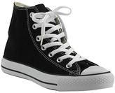 Converse Chuck Taylor Lace - Black Canvas Hi Top Sneaker