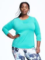Old Navy Go-Dry Cool Plus-Size Mesh Running Tee