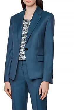 HUGO BOSS Janera One Button Blazer