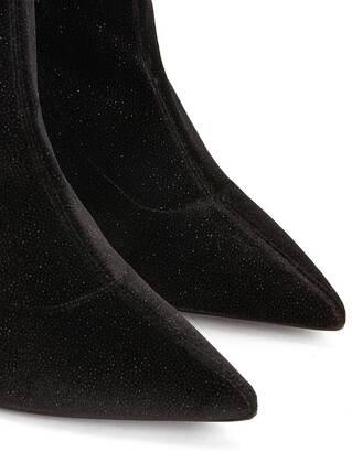Giuseppe Zanotti Felicity suede thigh-high boots