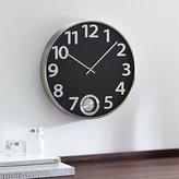 "Crate & Barrel Pendulum 16"" Wall Clock"
