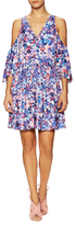 Rebecca Minkoff Robbie Printed Flared Dress