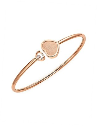 Chopard x 007 Happy Hearts - Golden Hearts 18K Rose Gold & Diamond Limited Edition Bangle