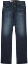 Ag Jeans Matcbox Dark Blue Straight-leg Jeans