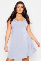 boohoo Plus Basic Swing Dress
