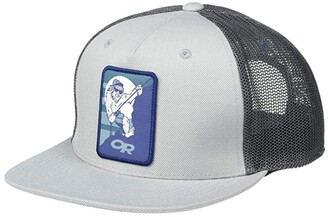 Outdoor Research Squatchin' Trucker Cap (Light Pewter) Caps