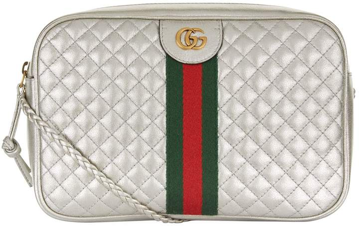 5028557dc05 Gucci Silver Handbags - ShopStyle