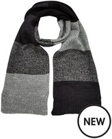 Very Mens Knitted Stripe Scarf