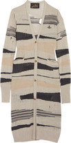 Vivienne Westwood Distressed intarsia-knit sweater dress