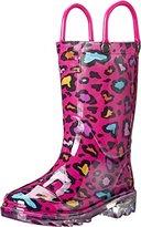 Western Chief Cutie Leopard Light-Up Rain Boot (Toddler/Little Kid/Big Kid)