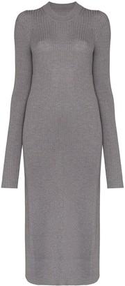 Maison Margiela ribbed-knit wool jumper