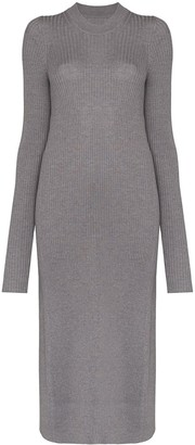Maison Margiela Ribbed-Knit Wool Jumper