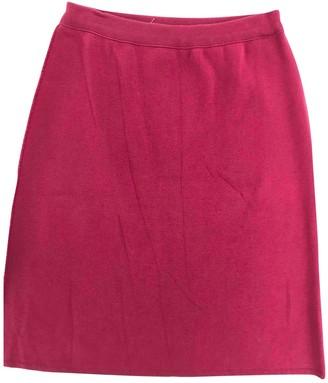 Sonia Rykiel Red Cotton Skirt for Women