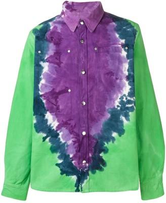 Vyner Articles Oversized Tie-Dye Shirt