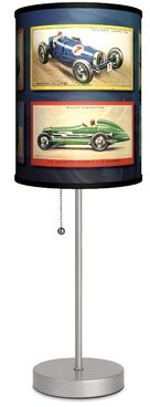 "Ebern Designs Drumgurland Race Cars 20"" Table Lamp"