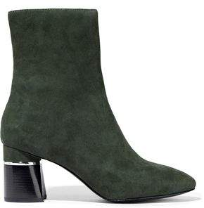 3.1 Phillip Lim Drum Suede Ankle Boots