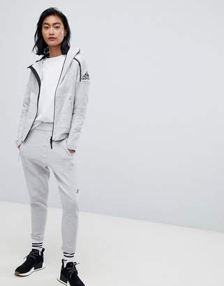 adidas 36 Hours Zne Tracksuit Bottoms-White