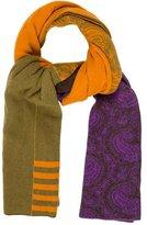 Etro Multicolor Paisley Scarf
