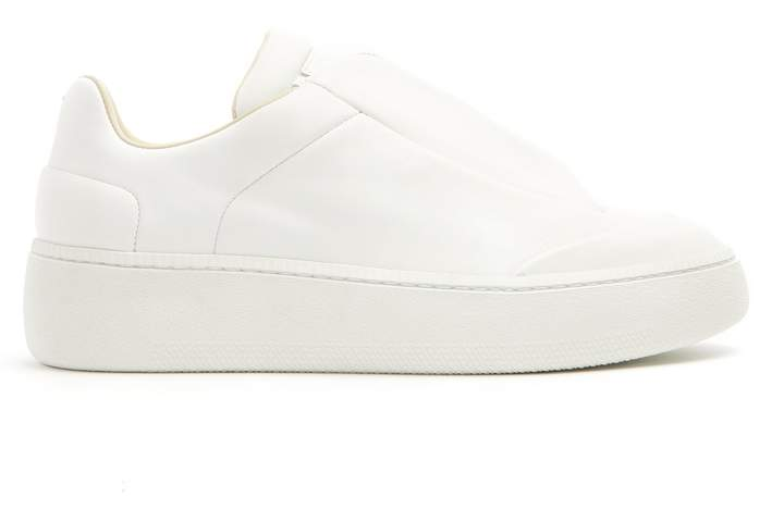 Maison Margiela Redux elasticated low-top leather trainers