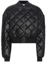Stella McCartney Nathalie Faux-leather Bomber Jacket