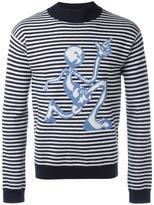 J.W.Anderson striped jumper - men - Merino - S