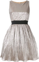 Manoush pleated metallic dress
