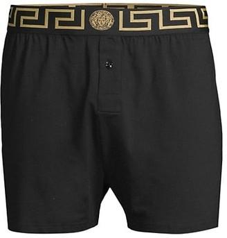 Versace Baroque Long Underpants