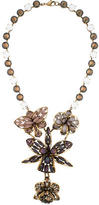 Erickson Beamon Floral Crystal Necklace