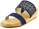 VANELi Kenna Women US 9.5 Blue Wedge Sandal