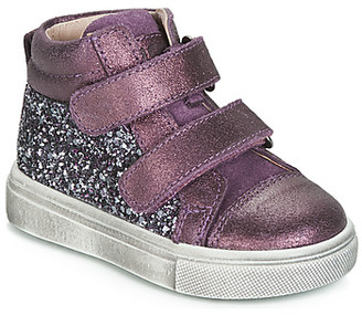Acebo's 5299AV-LILA-C girls's Shoes (High-top Trainers) in Purple