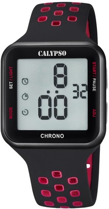 Calypso Unisex-Adult Digital Quartz Watch with Plastic Strap K5748/5